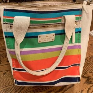 Kate Spade Tropical Stripe bag